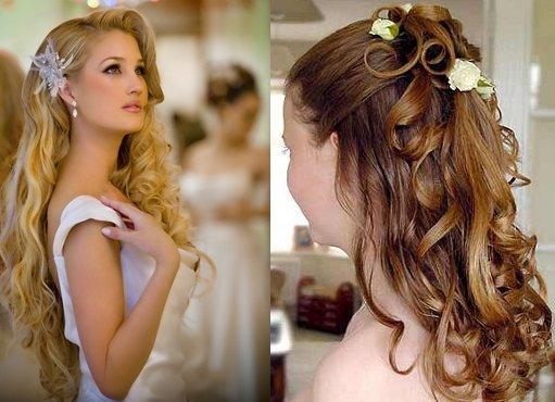 прически на выпускной 2013-2014 фото на длинные волосы