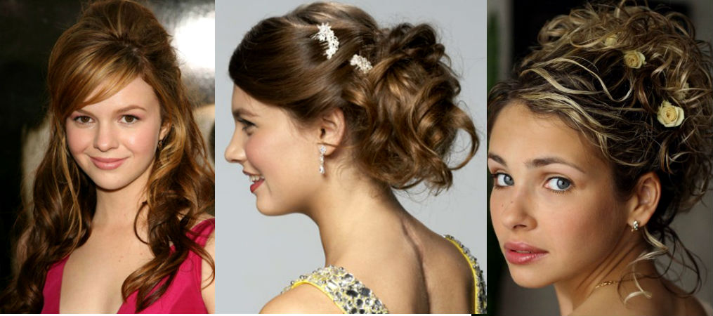 Прически на длинные волосы для девушек на выпускной