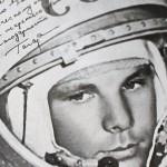 Гагарин в космосе фото