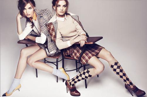 стильная и модная школьная форма для девочек