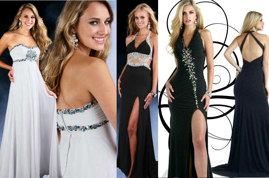 Модные платья для выпускного бала 2014