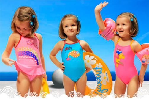 Размеры детских купальников