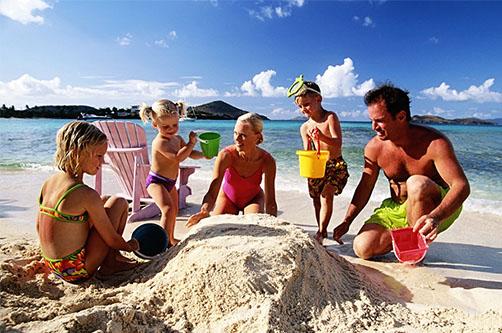 Отдых с детьми за границей