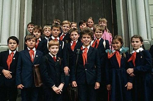 Школьная форма СССР