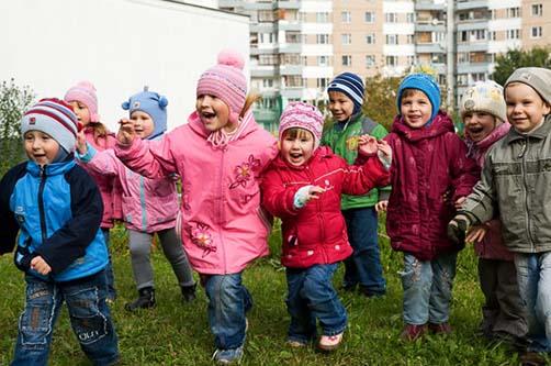 Каникулы в детском саду