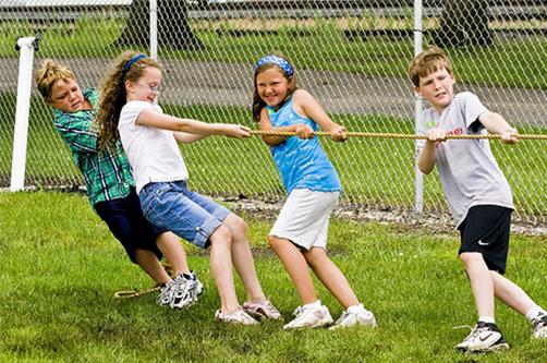Подвижные игры на уроках физкультуры