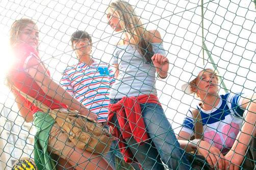 Подвижные игры для старшеклассников