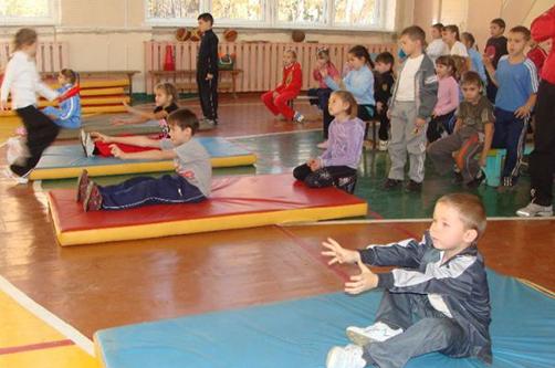 Подвижные игры для начальных классов