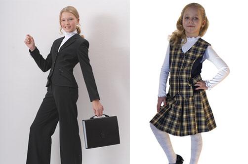 Школьная блузка для девочки 77