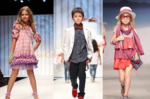 детский показ мод 2013