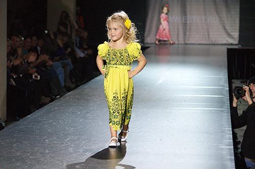 детский показ мод
