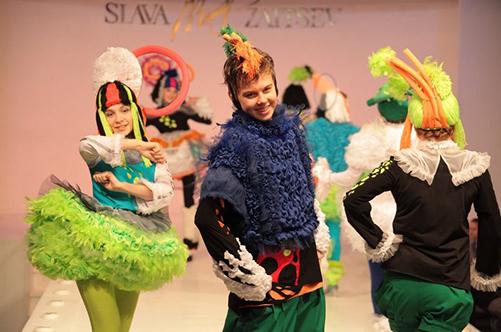 детский театр моды подиум