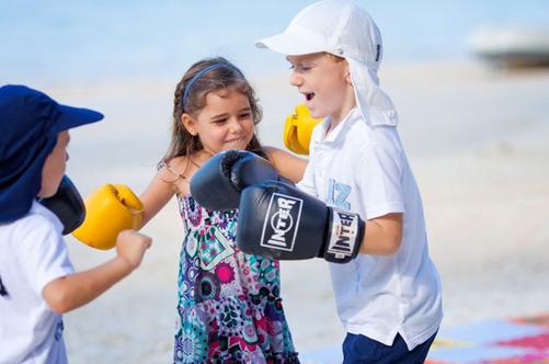 интересные конкурсы для девочек бокс