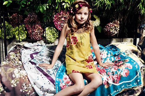 история детской моды