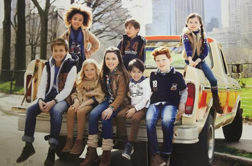 детская мода зима 2014