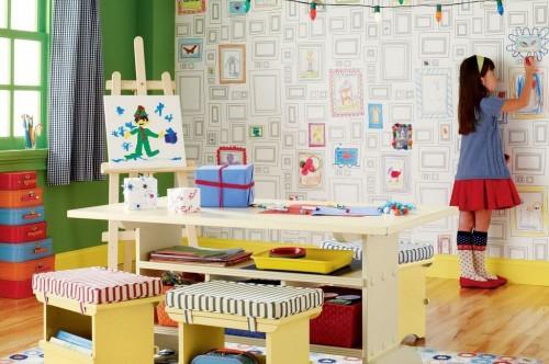 Как украсить комнату школьника65