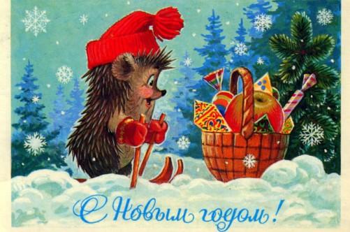 новый год в простоквашино: