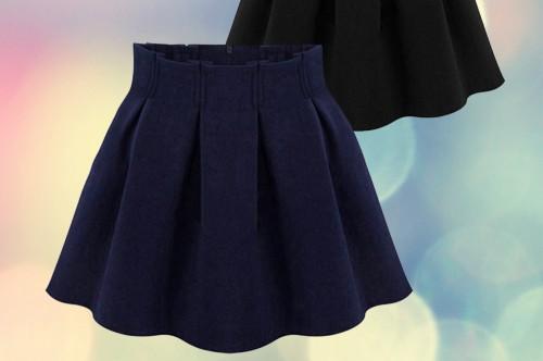 Как сшить юбку школьную на девочку 57