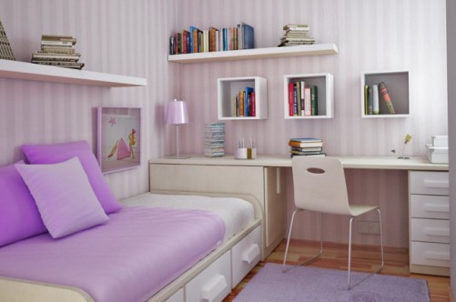 Учитывая возраст будущей хозяйки, и задумывая новый дизайн комнаты для девочки подростка, родителям нужно не забыть об особенностях характера дочери