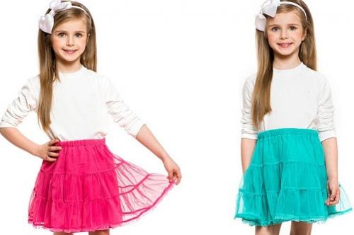 модели юбок для девочек 8 лет