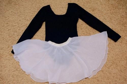 Юбка из сетки для танцев