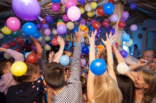Конкурсы на дискотеку с шариками
