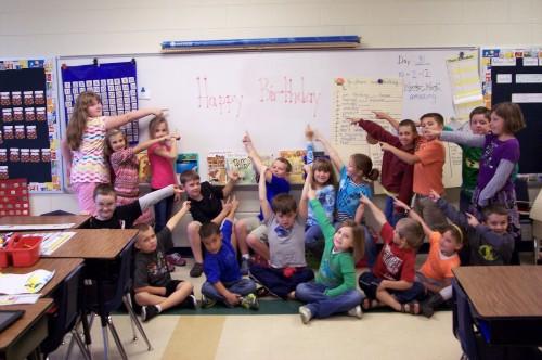 От учеников интересное поздравление с днем учителя
