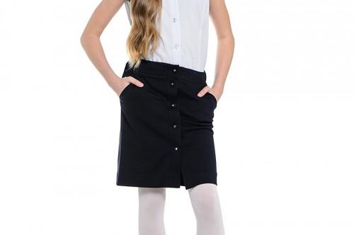 Как сшить юбку школьную на девочку 194