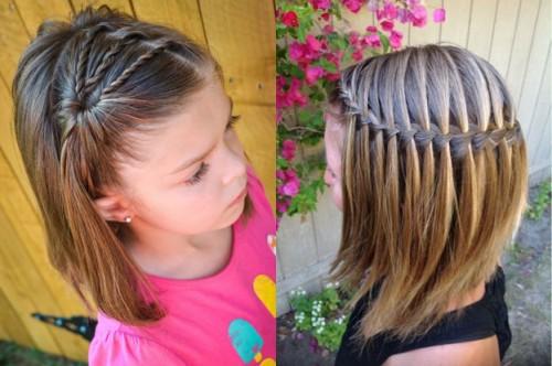 Прически на длинные волосы в школу: красивые и быстрые 2