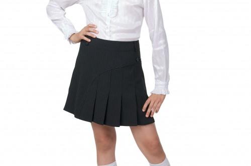 Как сшить юбку школьную на девочку 99