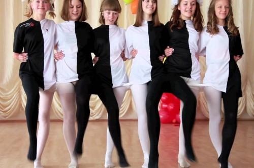 сценки про школу на выпускной 9 класс видео
